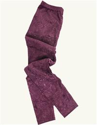 Merlot Damask Leggings