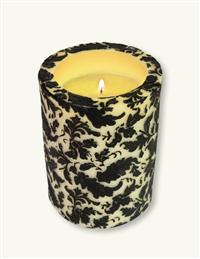 Night Damask Evermore Pillar Candle