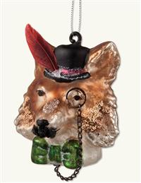 Fox Gent Ornament