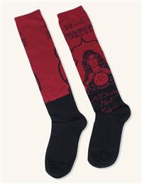 Madame Fortune Knee Socks