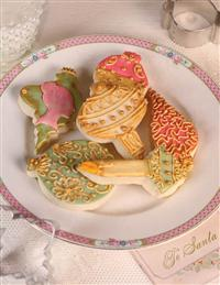 Festive Finial Cookie Cutters (Set Of 6)