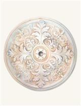 Curled Acanthus Ceiling Medallion