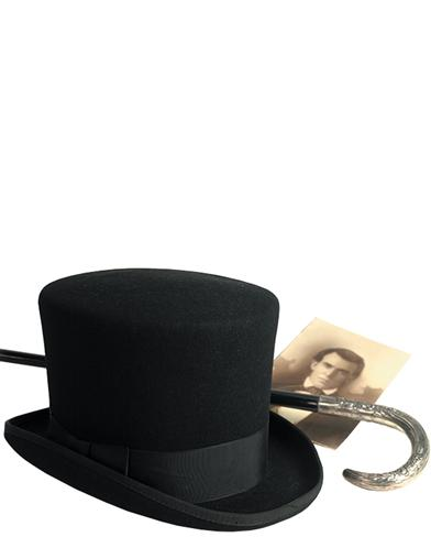 Men's Top Hat Black (X-large)