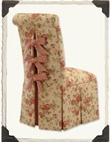 Scrollback Slipper Chair (Francine)