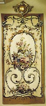 French Bouquet Tapestry (Rod Only)