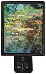 Monet's Green Water Lilies Nightlight