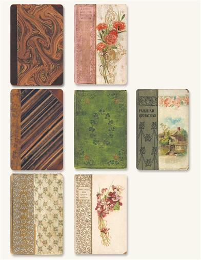 Antique Book Stickers
