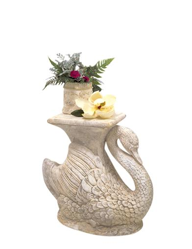Swan Bath Side Table