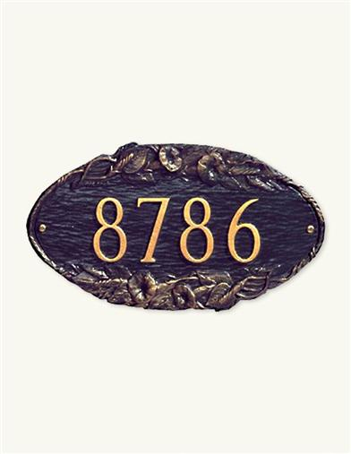 Address Plaque (Morning Glory)