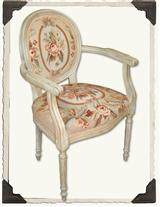 Needlepoint Arm Chair