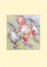 Hoppy Easter (Pkg Of 6 Blank Cards)