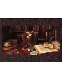 Library Of Books (Pkg Of 6 Congrats Cards)
