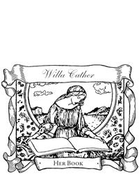 Antique Bookplate Rubber Stamp (Customized)