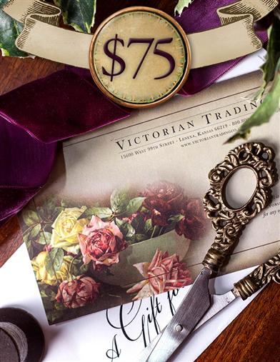 Gift Certificate Value Of $75.00