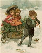 Joys Of The Season (Pkg Of 10 Holiday Cards)