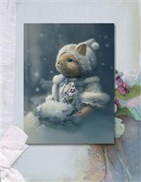 Snow Bunny (Pkg Of 10 Holiday Cards)