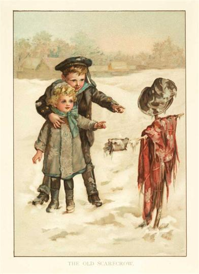 A Winter Scarecrow (Pkg Of 10 Holiday Cards)