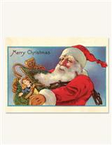 Something In Santa's Bag (Pkg Of 10 Holiday Cards)