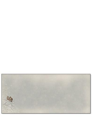 Snowbelle Stationery (25 Sheets & Envelopes)