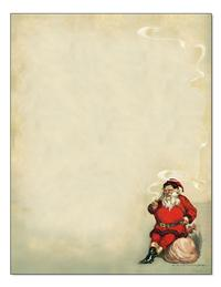 Ol' St Nick Stationery (25 Sheets & Envelopes)