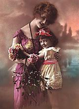French Tint Mother's Day Card (Single)