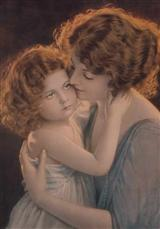 Mother&daughter (Pkg Of 6 Mother's Day Cards)