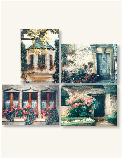 Stone Cottages (Pkg Of 8 Notecards)