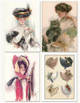 Millinery Shop (Pkg Of 8 Notecards)
