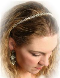 Iced Delicacy Crystal Headband