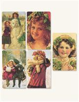 Yuletide Stickers Package Of 8