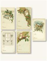 Gilded Holiday To And From Stickers Package Of 8