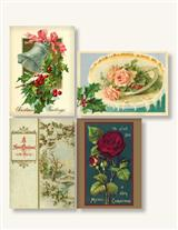 Holiday Greetings Stickers Package Of 8