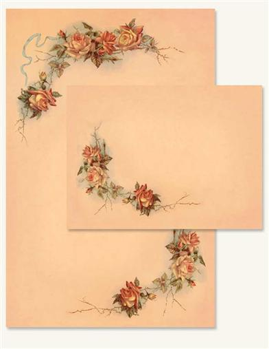 China Rose Stationery