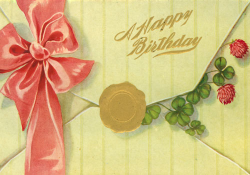 Best Wishes Enclosed For A Happy Birthday.