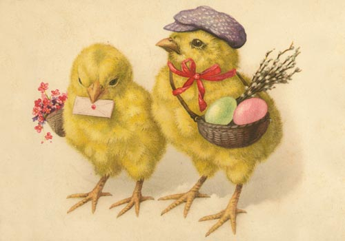 Warm And Fuzzy Easter Greetings To You And Yours.
